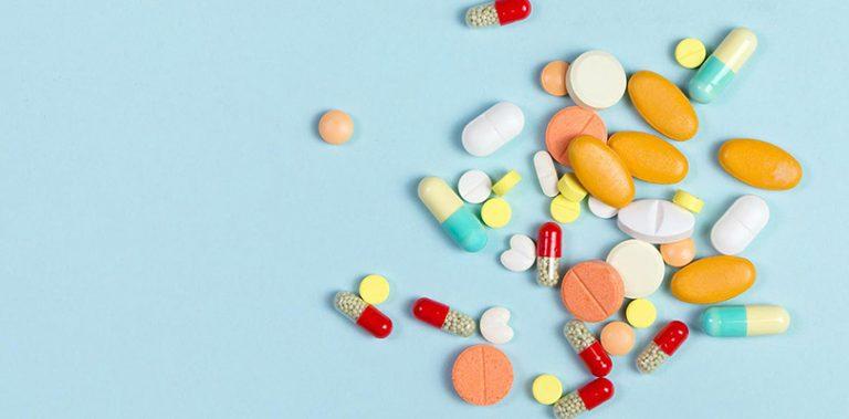 An assortment of medications